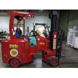 Tailift USA DV8R Narrow Aisle Articulating Forklift s/n 600004, 3,630#, 775 Hou   Rig Fee: $100