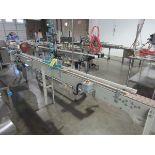 "4.5"" x 14' Slat Belt Conveyor with Accutek DeCapper   Rig Fee: $125"