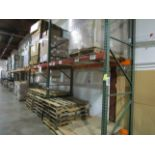 """(13) Sections of Adjustable Pallet Shelving Including (16) 12' x 44"""" Uprights, (4)   Buyer to Remove"""