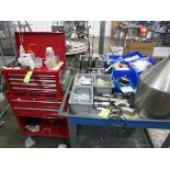 Hot Air Tube Filler Parts & Toolbox   Rig Fee: $50