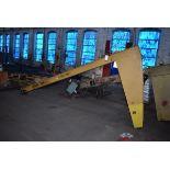 Gorbel 1/2 Ton Capacity Jib Boom. 12ft Length, S/N A75270