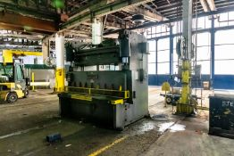 Short Notice Sale - Heavy Fabrication Plant Equipment: Bridge Cranes to 25 Tons, Shear, Forklifts and Support Online Auction