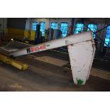 Abel Howe Jib Boom, Rated 1 Ton Capacity, 14ft Length, S/N 3415365-2