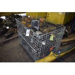 (6) Pneumatic Hoists w/ Wire Tote