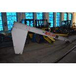 Abell Howe Jib Boom, Rated 1 Ton Capacity, 12ft Length, S/N 3422232-4