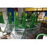 (5) Saf-T-Cart Welding Carts, (1) Extra Frame
