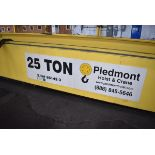 Piedmont Hoist and Crane Double Girder 25 Ton Bridge Crane, Over Running, 25 Ton Lift | Rig Fee $800