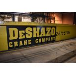 2007 DeShazo 2.5/2.5 Ton Bridge Crane with Two Stahl Hoists and Trollies, Approx 60ft | Rig Fee $500