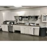 Contents of Breakroom, excludes (1) microwave and dishwasher | Load Fee: $100