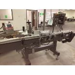 """Universal Pressure Sensitive Wrap Around Bottle Labeler With 12' Of 4-1/2"""" Convey   Rig Fee: $150"""