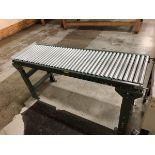 5' Gravity Roller Conveyor   Rig Fee: $10