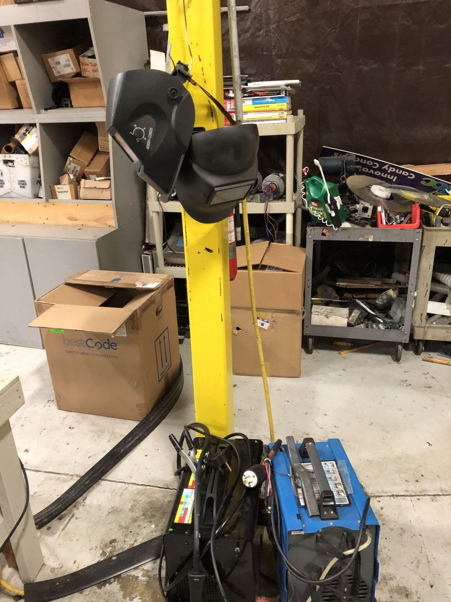 Lot 103 - Chicago Electric Welders With Helmets | Rig Fee: $25