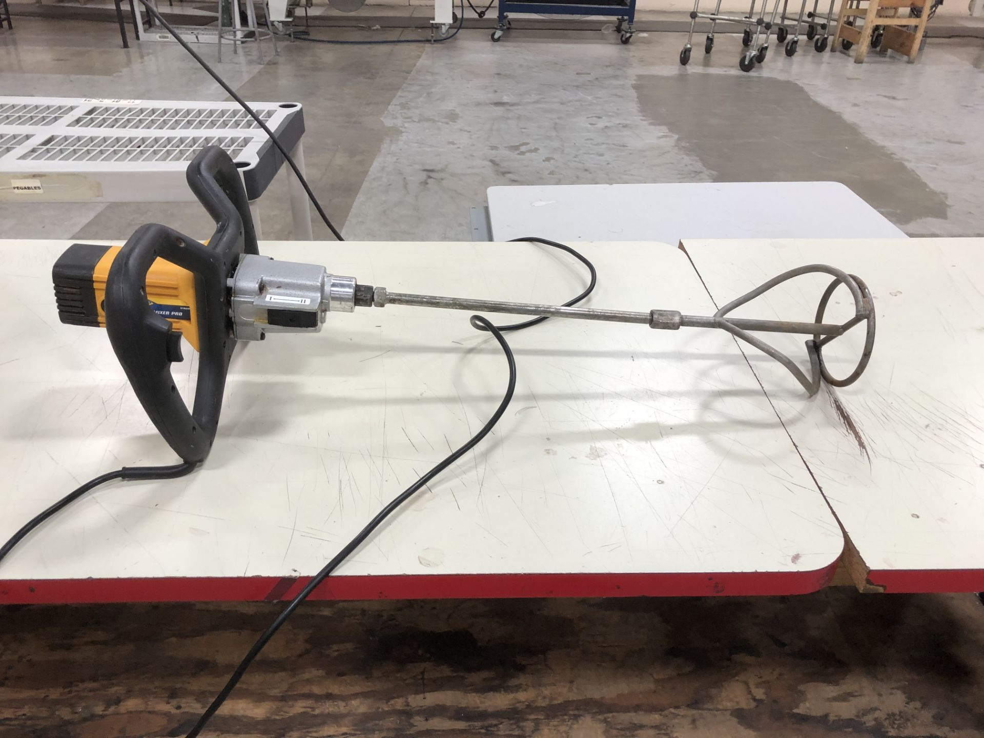 Lot 6 - QEP 1300 Wet Power Mixer, 120V | Rig Fee: $0