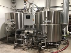 Working Man Brewing - 2012 & 2017 Microbrwery: 15 BBL Brewhouse + All 15 & 30 BBL Fermenters & Brites, Mill, Keg Filling, Chiller, Cooler, Van+