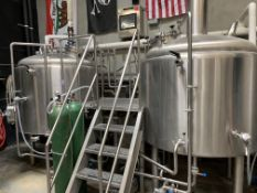 State Brewing Co. 2015 Microbrewery: 10BBL Brewhouse Package, 10 to 30 BBL Fermenters & Brites, Mill, Pilot System, Keg Washer, Tap, All Support