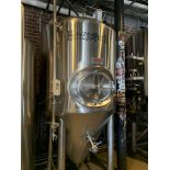 2014 DME 10 BBL Fermenter, Glycol Jacketed, Approx Dims: 54in OD x 1 - Subj to Bulk   Rig Fee: $800