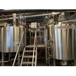 2014 DME 10 BBL Brewhouse, Includes Steam Jacketed Brew Kettle, Comb - Subj to Bulk   Rig Fee: $3500