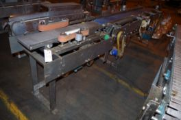 "4-Belt Accumulator Conveyor, approx. 89"" L x 24""W, and conveyor multiple drive unit 