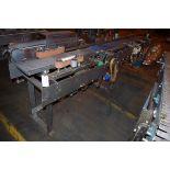 "4-Belt Accumulator Conveyor, approx. 89"" L x 24""W, and conveyor multiple drive unit   Rig Fee: $50"