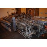 """Straight Line Pie Filler, with 9"""" and 7"""" Round Plates, with drives and chains   Rig Fee: $300"""