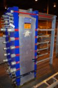 2010 Alfa Laval Plate Chiller, Model T20-BWFS, S/N 30112-51394, MAWP 150/250 PSI @ | Rig Fee: $75