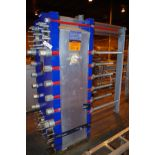 2010 Alfa Laval Plate Chiller, Model T20-BWFS, S/N 30112-51394, MAWP 150/250 PSI @   Rig Fee: $75
