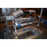 Cornerstone Dual Stainless Steel Check Weigher, Model Beltweigh/MM, Conveyor approx   Rig Fee: $50