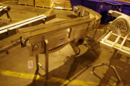 (2) Nercon Stainless Steel conveyors with drive motors | Rig Fee: $50