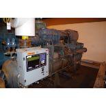 FES 200HP Rotary Screw Compressor, Model 575B, with FES Head, S/N 2512838, 250 PSI   Rig Fee: $1000