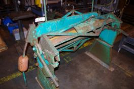 "Tennsmith Bending Machine, approx. 48"" W 