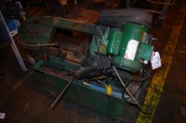 Grizzly horizontal band saw, Model G1758, S/N 774023, with Dayton motor | Rig Fee: $50