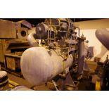 Frick 300HP Rotary Screw Ammonia Compressor, Model RWB II 496B, S/N S0061QFMFTHAA03   Rig Fee: $1000