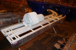 (2) Nercon Stainless Steel conveyors, 1 with drive motor | Rig Fee: $50