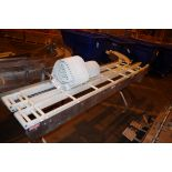 (2) Nercon Stainless Steel conveyors, 1 with drive motor   Rig Fee: $50