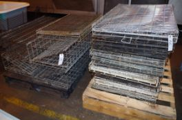 Lot of approx. 20 Wire Dog Crates and Travel Kennels | Rig Fee: $50