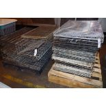 Lot of approx. 20 Wire Dog Crates and Travel Kennels   Rig Fee: $50