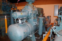 Frick 500HP Rotary Screw Ammonia Compressor, Model RWB II 222H, S/N S0600QFMCTHA003 | Rig Fee: $1000