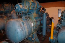Frick 300HP Rotary Screw Ammonia Compressor, Model RWB II 496B, S/N S0066RFMFTHA003 | Rig Fee: $1000