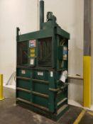 KMF Vertical Baler, S/N 4357 - Loc: NJ | Rig Fee: $300