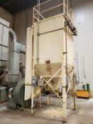 Air Pulse Bag House/Dust Collector, W/ 30 HP Blower - Loc: NJ | Rig Fee: $1500