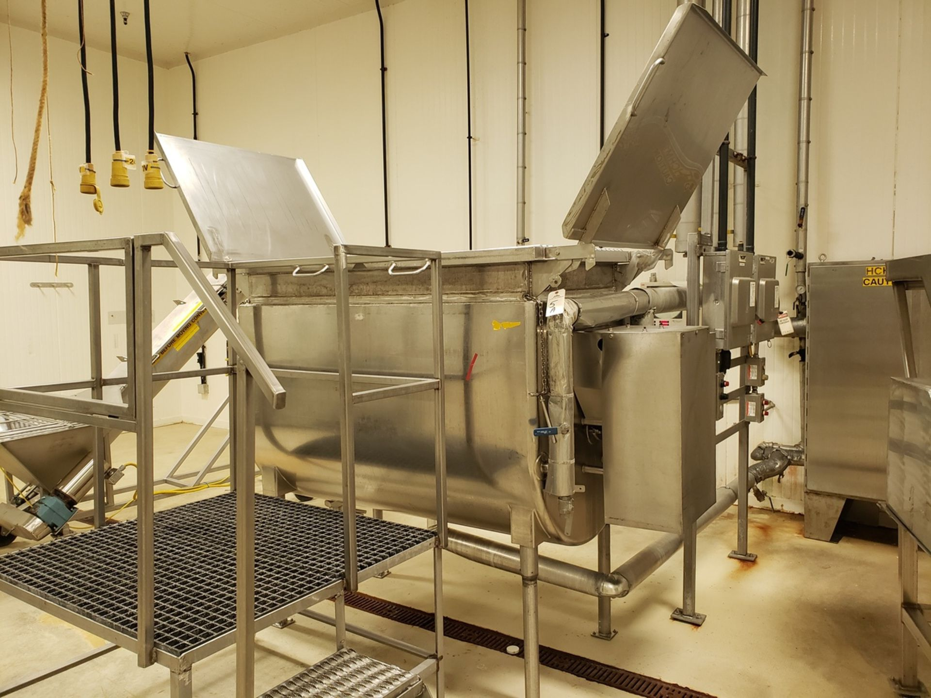 Lot 5A - Paddle Blender - Will-Flow 300 Gallon Scraped Surface, Jacketed Paddle Bl - Loc: NJ | Rig Fee: $750