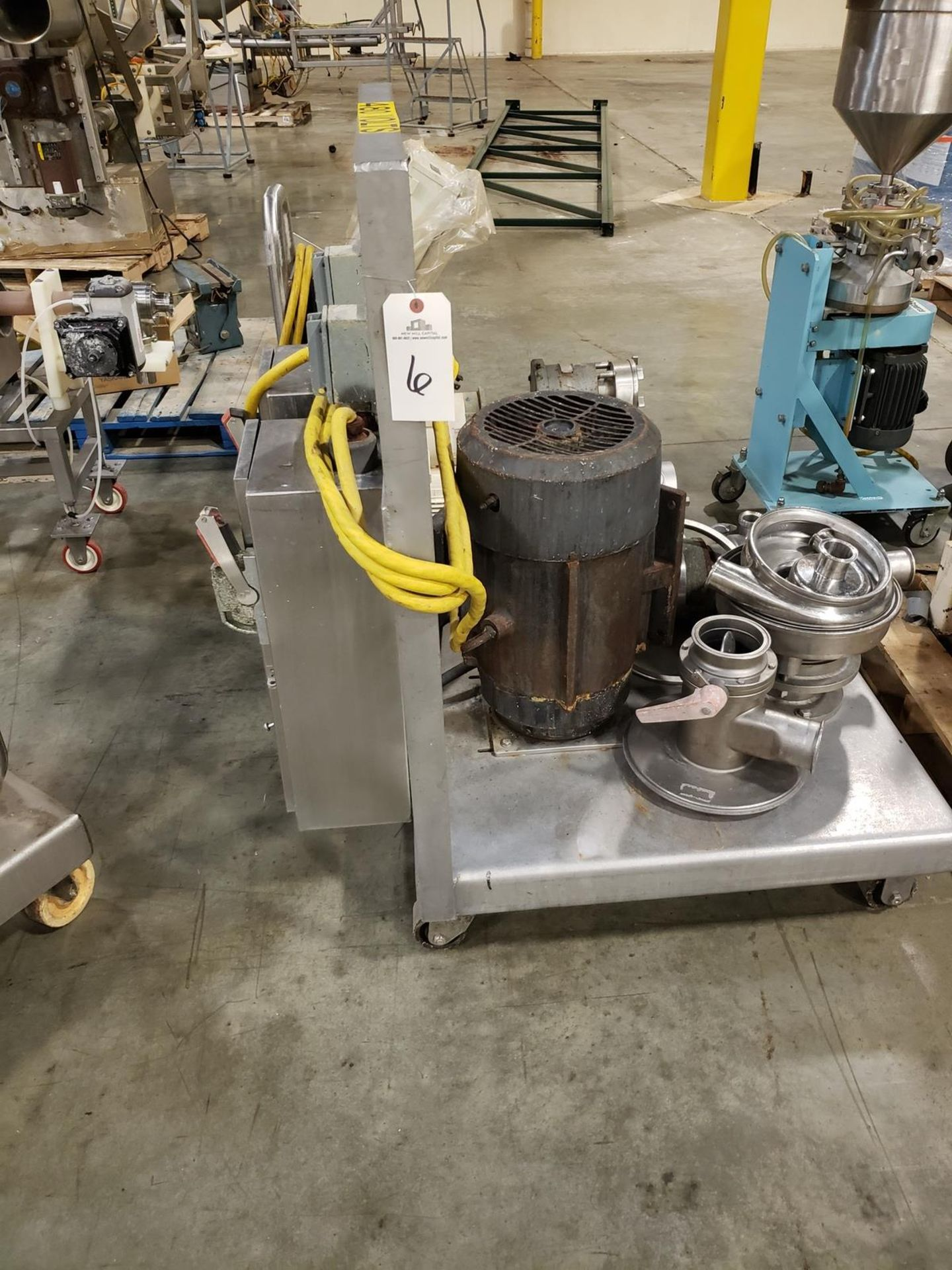 Lot 6 - APV Tri Powder Mixer, 15 HP - Loc: NJ | Rig Fee: $50