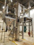 Meto 2,000 lb. Rotating Trough Lift/Dump Tower, M# M5444-42, S/N 7613, Al - Loc: NJ | Rig Fee: $2500
