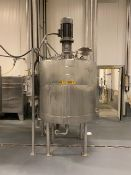 Reactor - Alloy Fab Stainless Steel 588 Gallon Agitated Reactor, Steam Jac - Loc: NJ | Rig Fee: $450