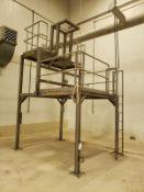 Dual Tier Stainless Steel Work Platform - Loc: NJ | Rig Fee: $300