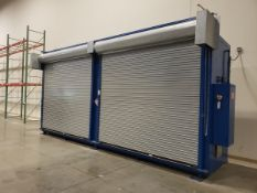 Denios Double Tier Fire Suppression Material Storage Cabinet, S/N 971646, - Loc: NJ | Rig Fee: $750