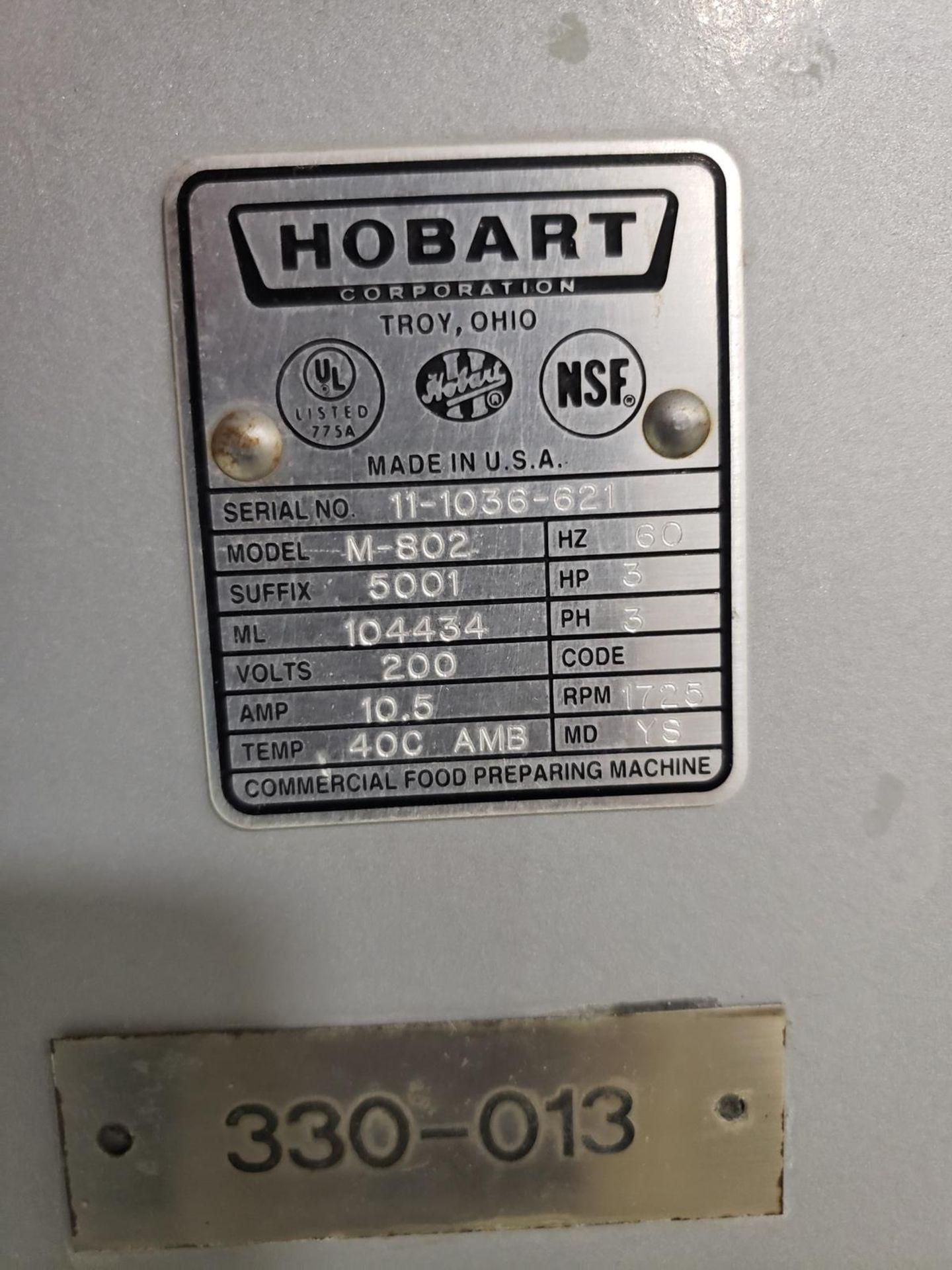 Lot 21 - 2011 Hobart 80 Quart Mixer, M# M-802, S/N 11-1036-621 - Loc: NJ | Rig Fee: $100