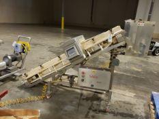 "Safeline Metal Detector - 12"" X 8' Inclined Powder Conveyor, W/ 7"" X 14 M - Loc: NJ | Rig Fee: $50"