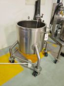 Mixing Tank - Lee Industries 30 Gallon Jacketed, Agitated Mixing Vessel, - Loc: NJ | Rig Fee: $50