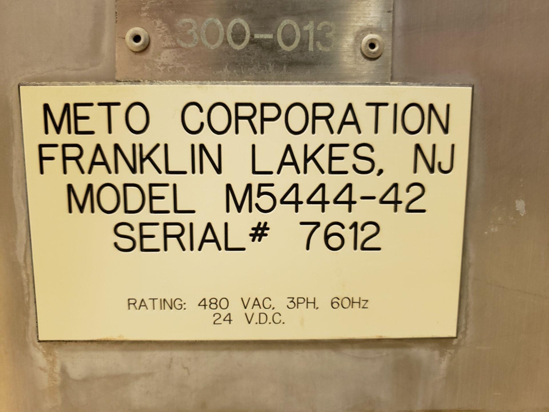 Lot 10 - Meto 2,000 lb. Rotating Trough Lift/Dump Tower, M# M5444-42, S/N 7612, Al - Loc: NJ | Rig Fee: $2500